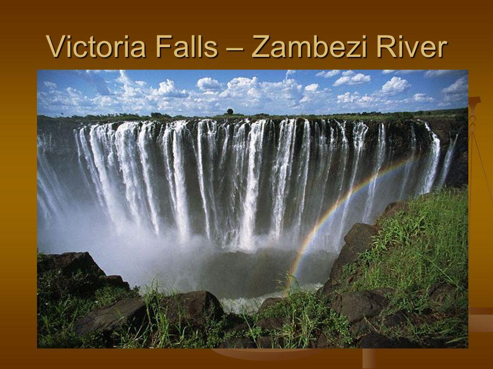Victoria Falls – Zambezi River