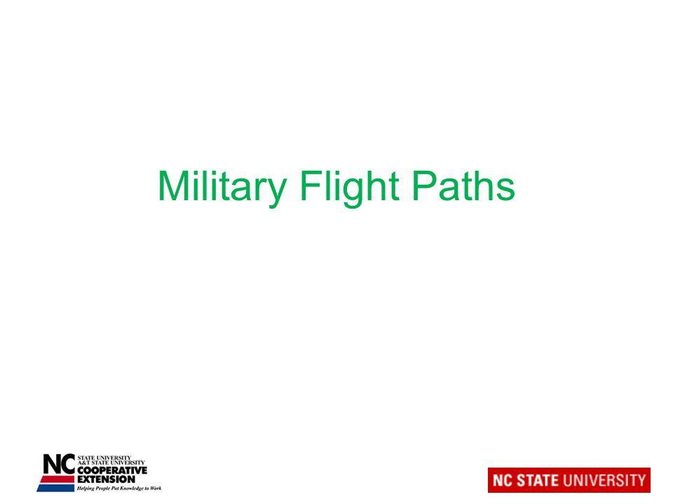 Military Flight Paths