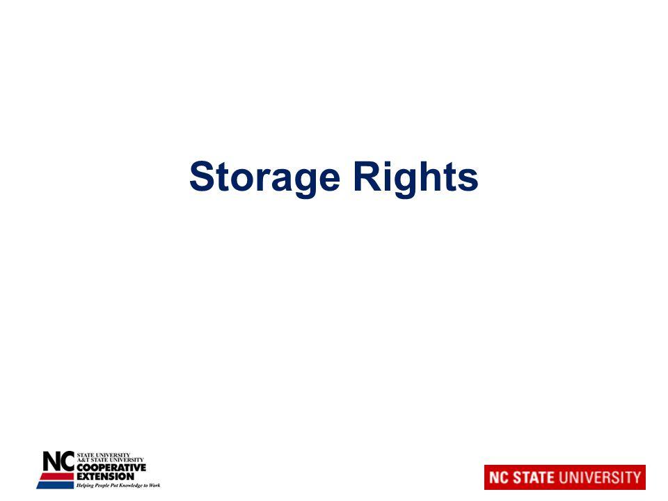 Storage Rights