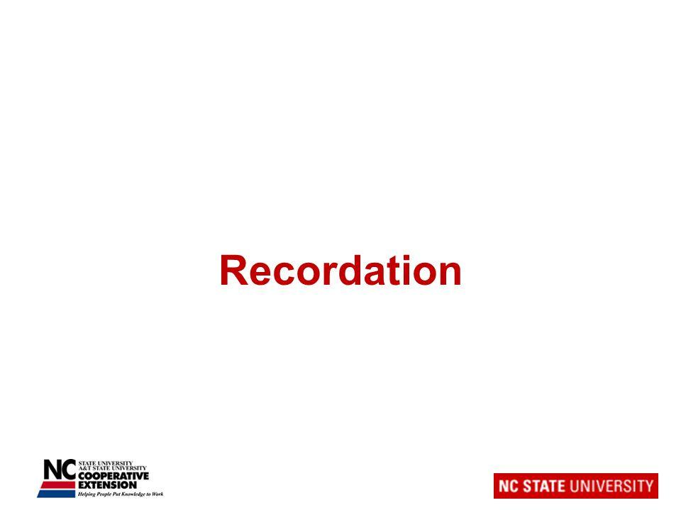 Recordation
