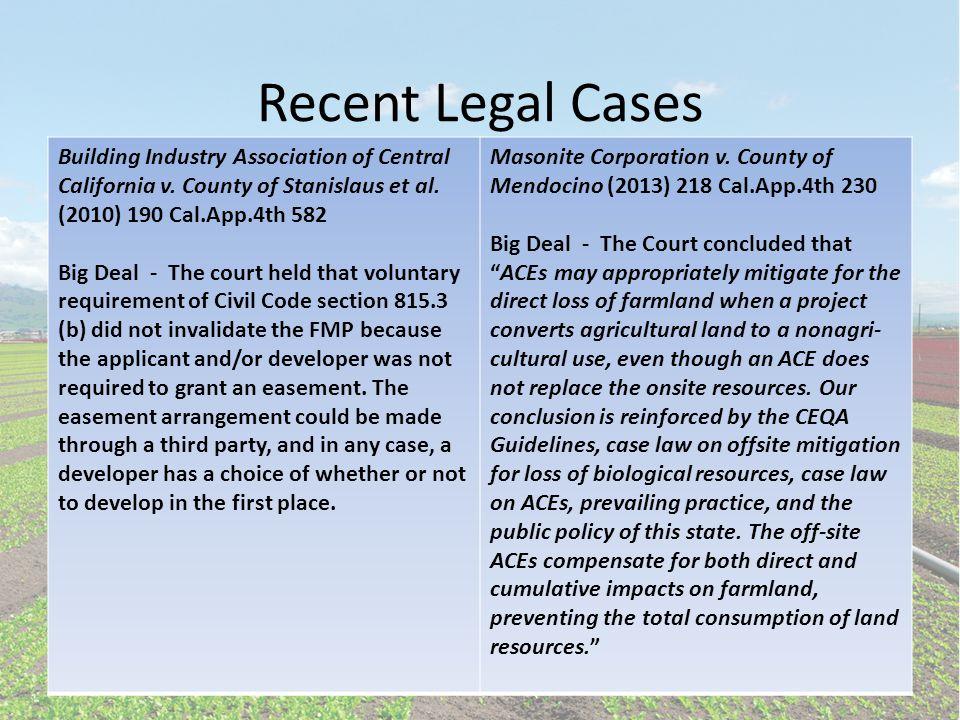 Farmland Mitigation Primer cont.