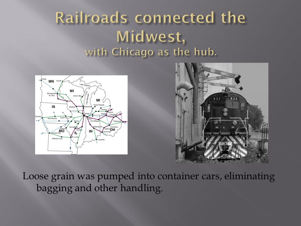 Wisconsin and other Great Lakes states became centers of large-scale cheese production.