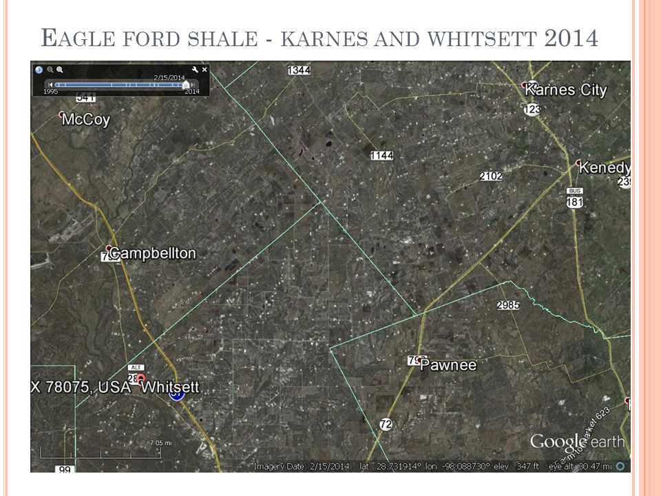 E AGLE FORD SHALE - KARNES AND WHITSETT 2014