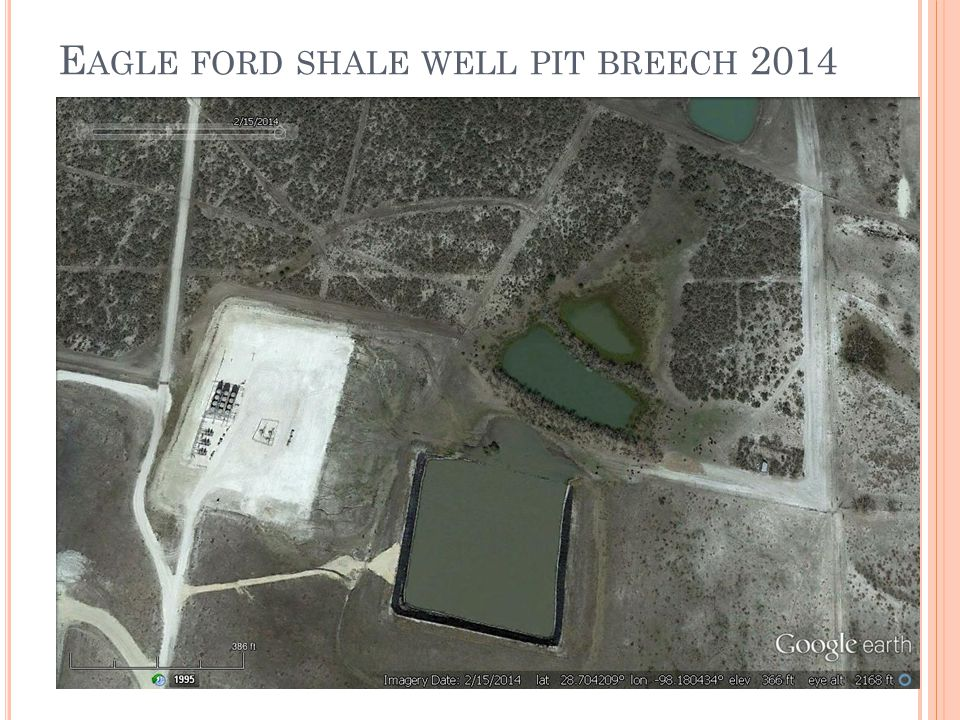 E AGLE FORD SHALE WELL PIT BREECH 2014
