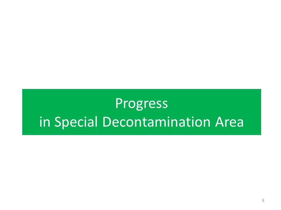 Progress in Special Decontamination Area 8