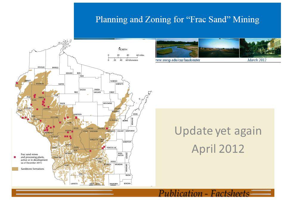 Update yet again April 2012 Publication - Factsheets