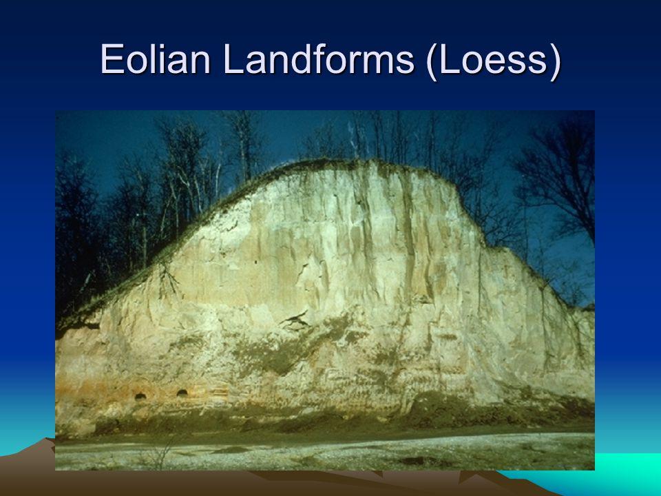 Eolian Landforms (Loess)