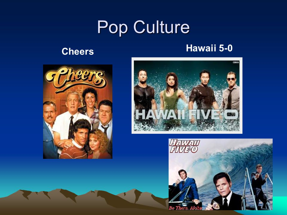 Pop Culture Cheers Hawaii 5-0