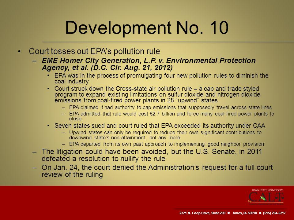2321 N. Loop Drive, Suite 200  Ames, IA 50010 (515) 294-5217 Development No.