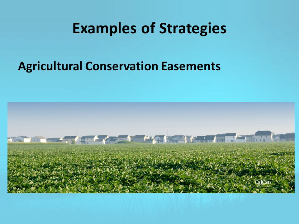 Agricultural Conservation Easements CalCan