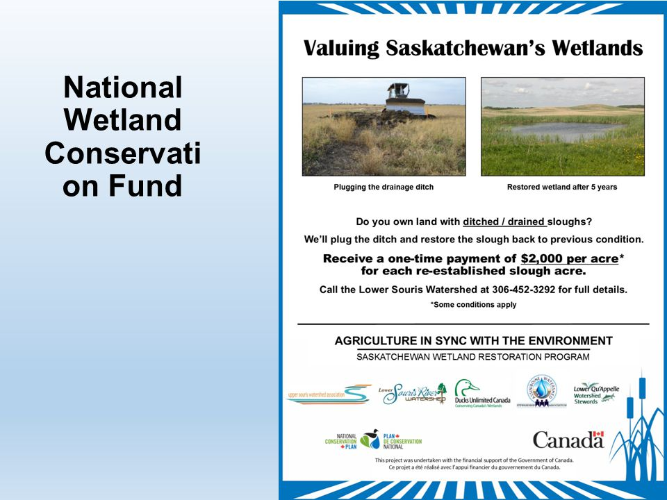 National Wetland Conservati on Fund