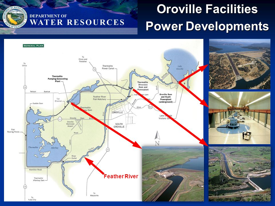 Oroville Facilities Power Developments Feather River