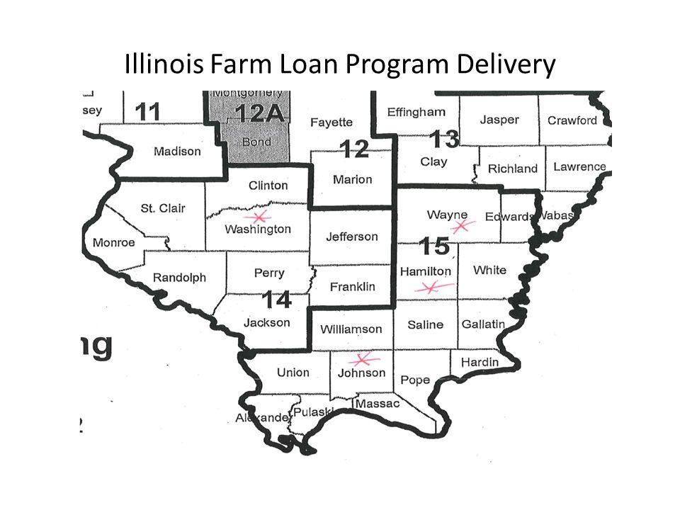 Illinois Farm Loan Program Delivery
