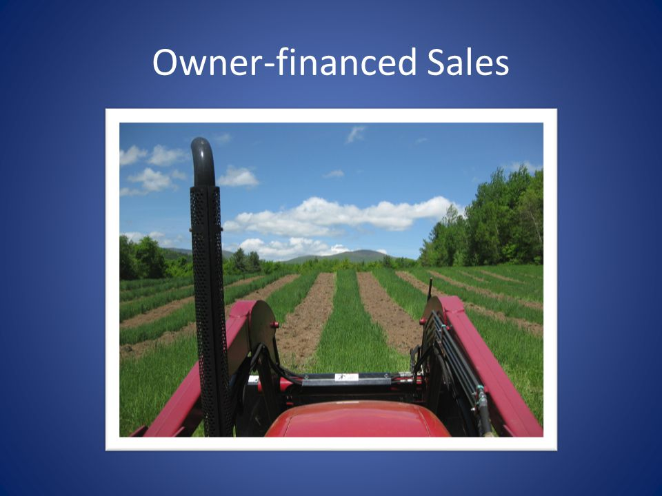 Owner-financed Sales