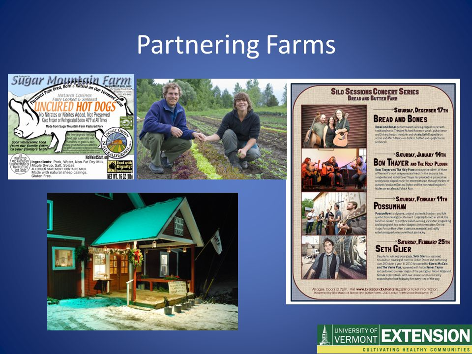 Partnering Farms