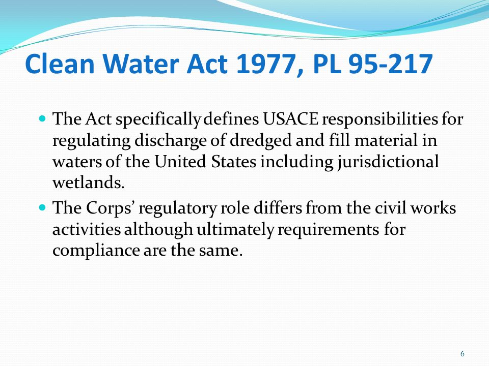 Coastal Zone Management Act 1972 PL 92-583 Section 303.