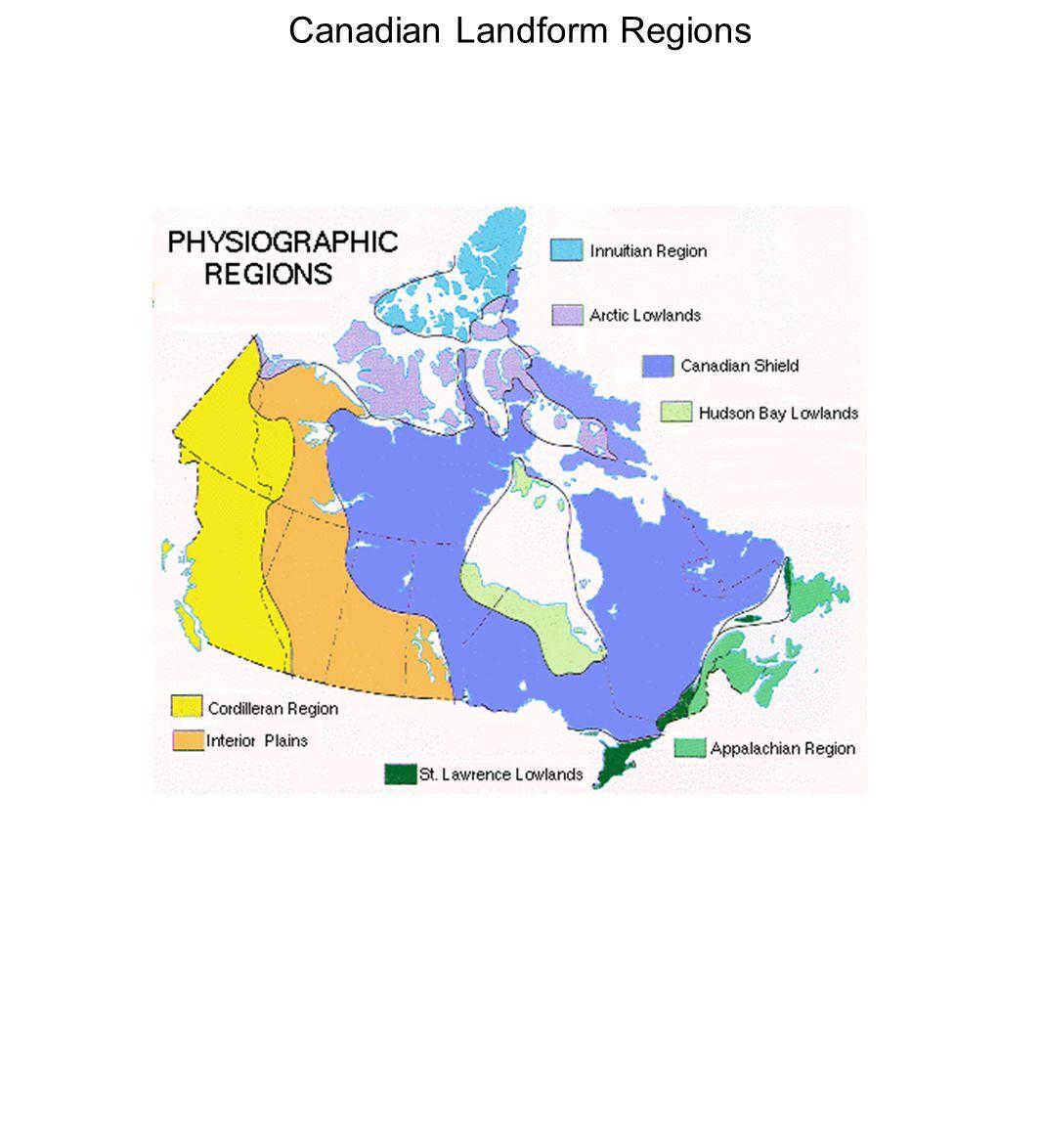Canadian Landform Regions