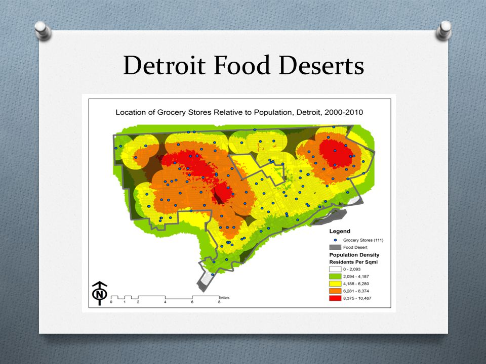 Detroit Food Deserts
