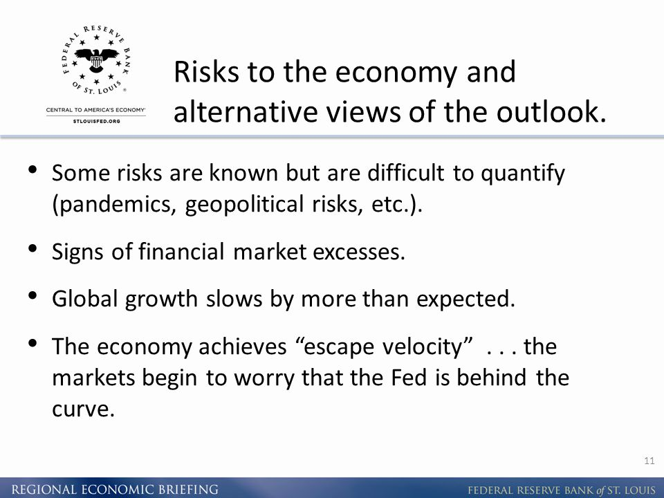 Risks to the economy and alternative views of the outlook.
