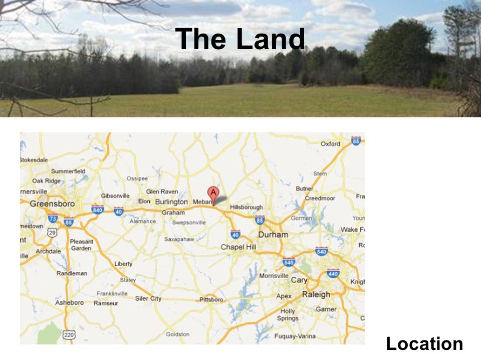 The Land Location