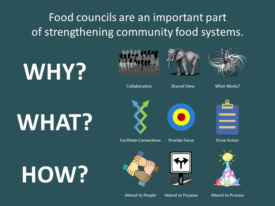 Food councils are an important part of strengthening community food systems.