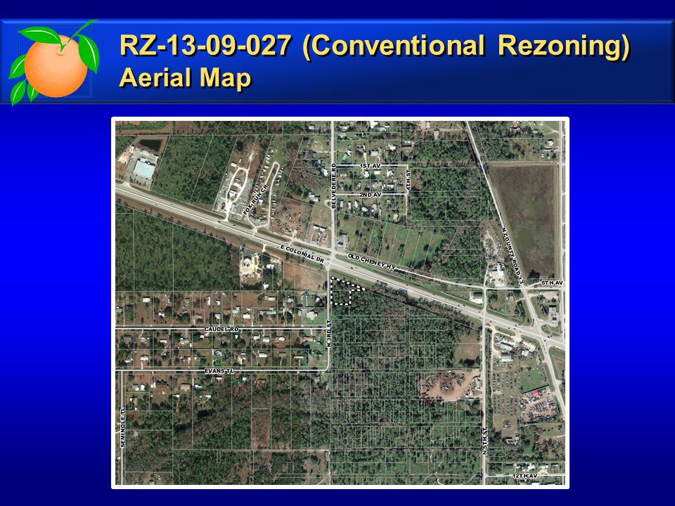 RZ-13-09-027 (Conventional Rezoning) Aerial Map RZ-13-09-027 (Conventional Rezoning) Aerial Map