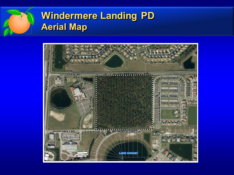 Windermere Landing PD Aerial Map Windermere Landing PD Aerial Map
