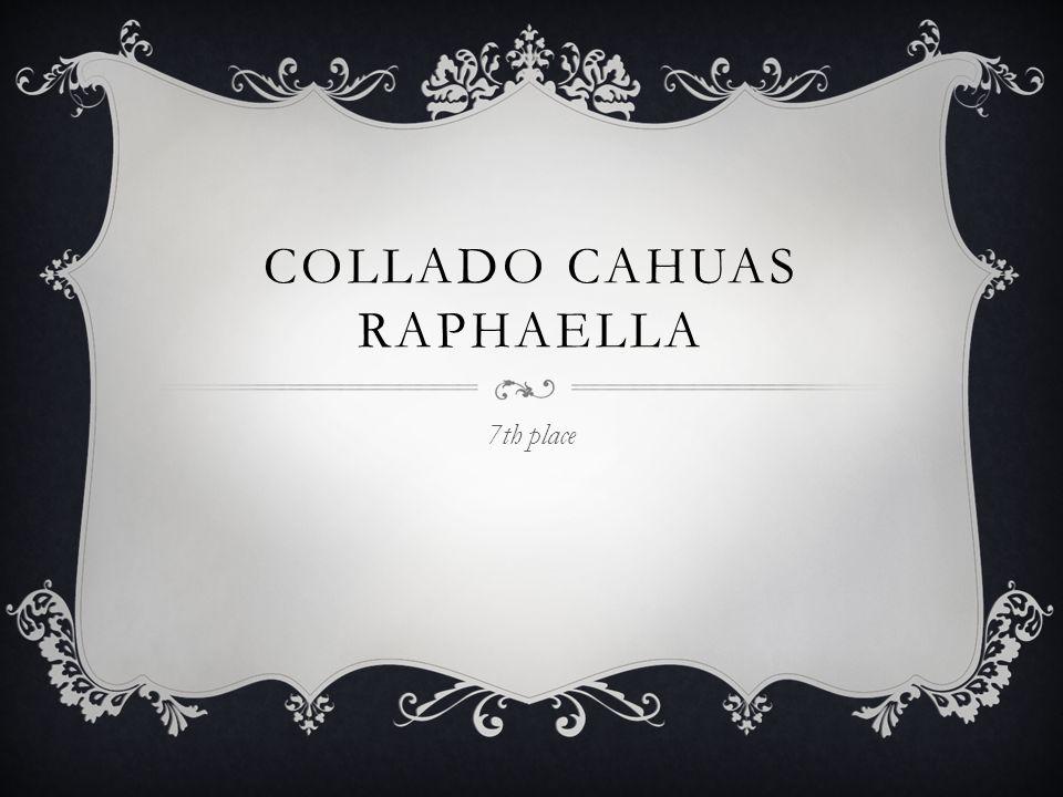 COLLADO CAHUAS RAPHAELLA 7th place