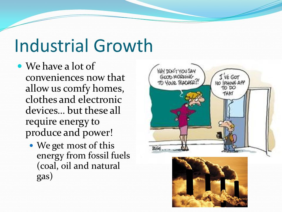 Sustainable Development Most ecosystems provide us with goods and services like water and air If it can't, then we must spend money in order to produce them If the water isn't being cleaned by the natural rivers and wetlands, we have to pay for chemicals and mechanics to make it safe to drink