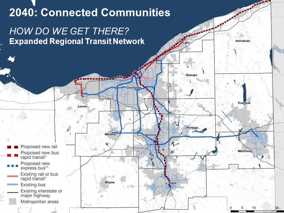 HOW DO WE GET THERE Expanded Regional Transit Network 2040: Connected Communities