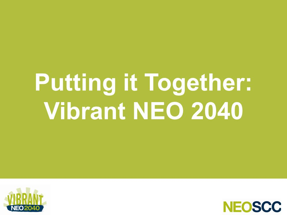 Putting it Together: Vibrant NEO 2040
