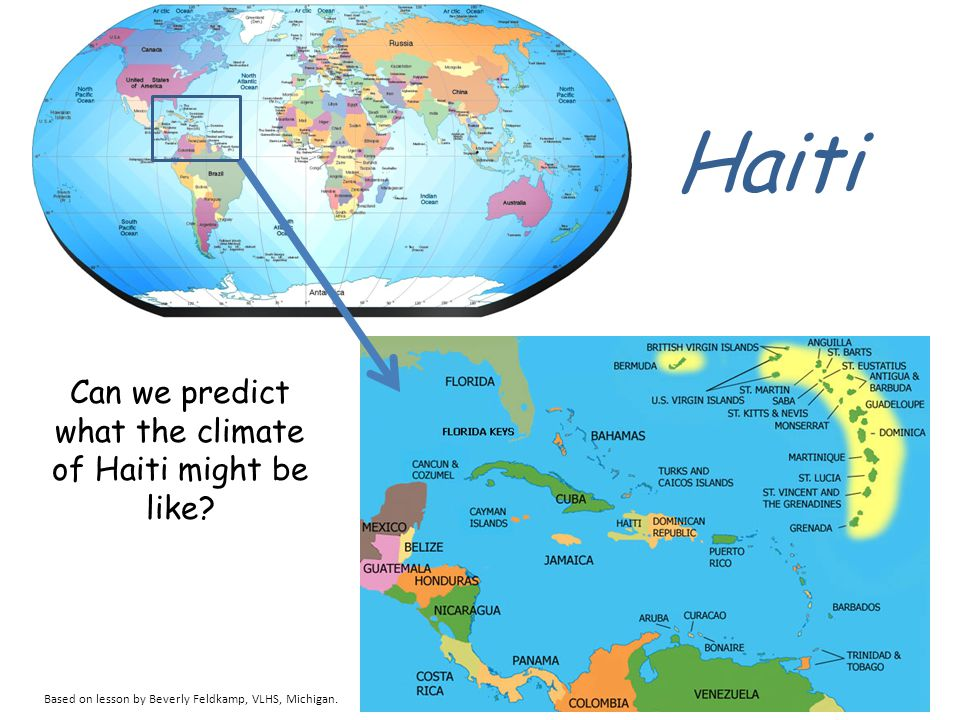 Christopher Columbus described the island of Haiti: Its lands are high; there are in it many sierras and very lofty mountains…all are most beautiful, or a thousand shapes; all are accessible and filled with trees of a thousand kinds and tall, so that they seem to touch the sky.