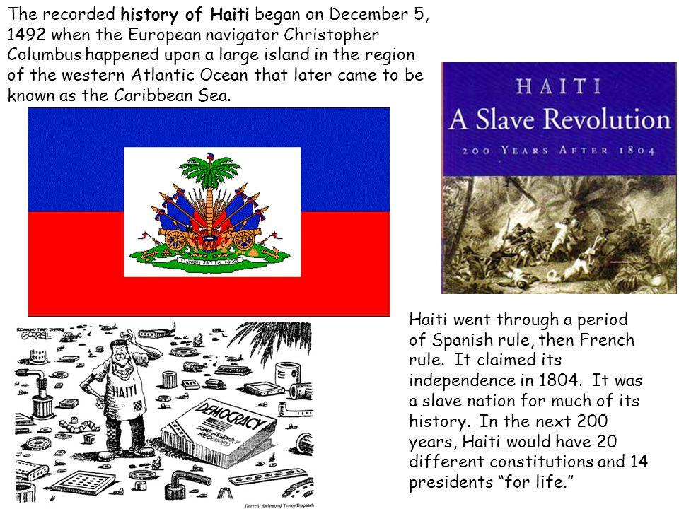 Haiti Population 1950 = 3.2 million 1970 = 4.2 million 1990 = 6.5 million Why has the population grown so much since 1950?