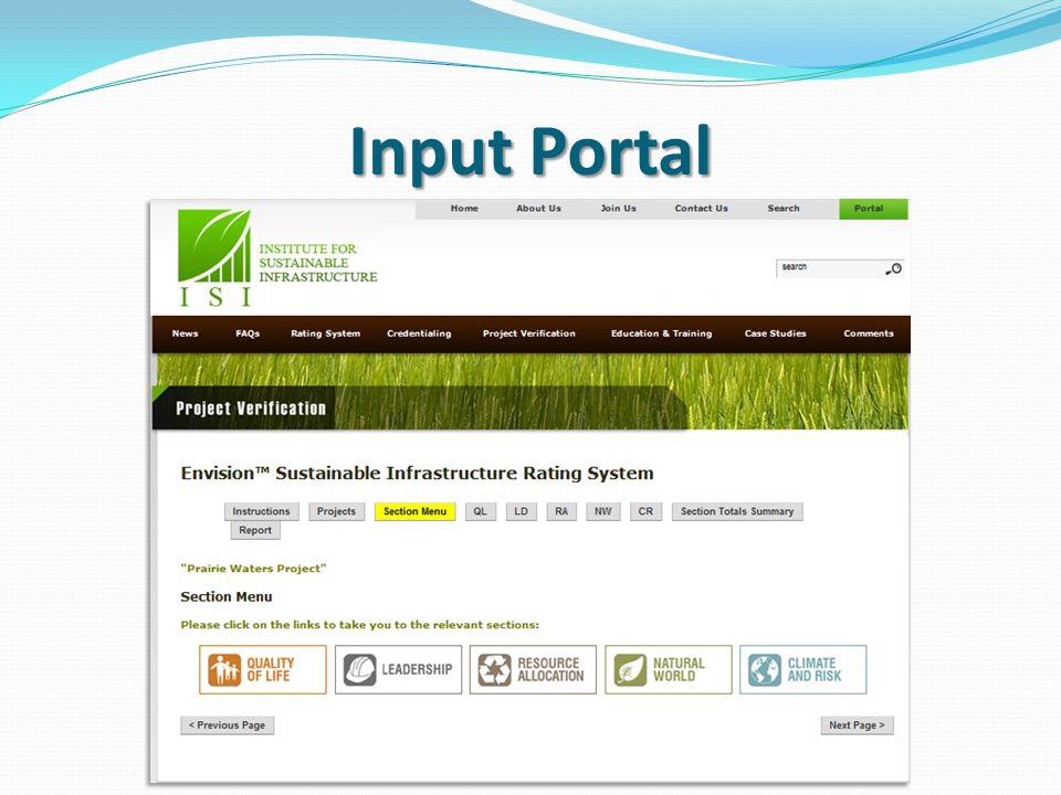 Input Portal