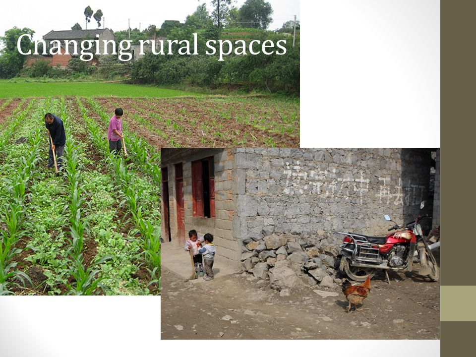 Changing rural spaces