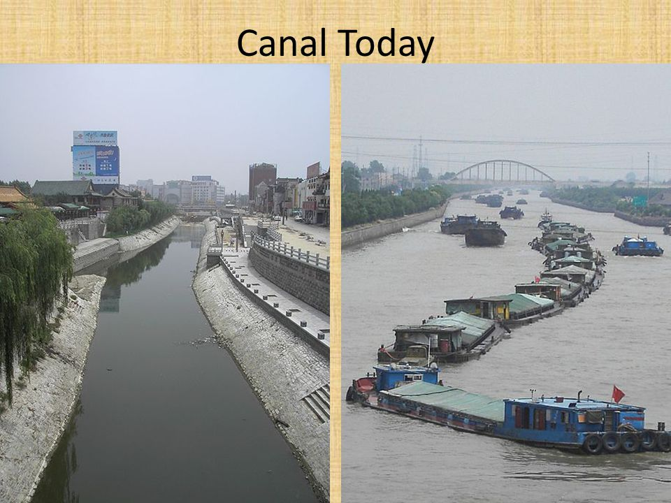 Canal Today
