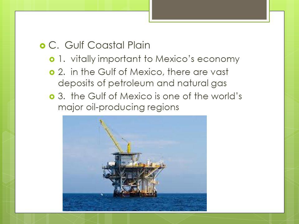  D.The Yucatan Peninsula  1. generally flat  2.