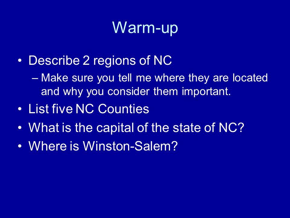 NC Geography
