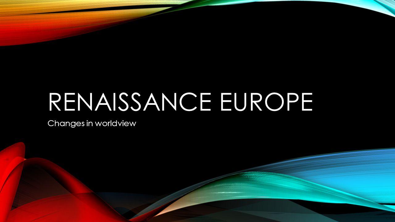 RENAISSANCE INTRODUCTION - VIDEO