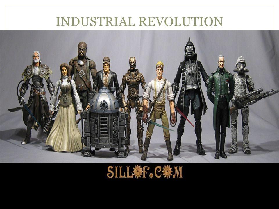 INDUSTRIAL REVOLUTION STEAMPUNK STAR WARS
