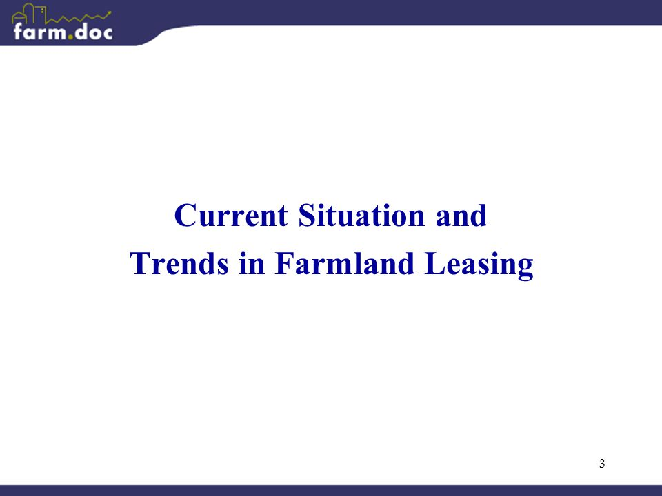 3 Current Situation and Trends in Farmland Leasing