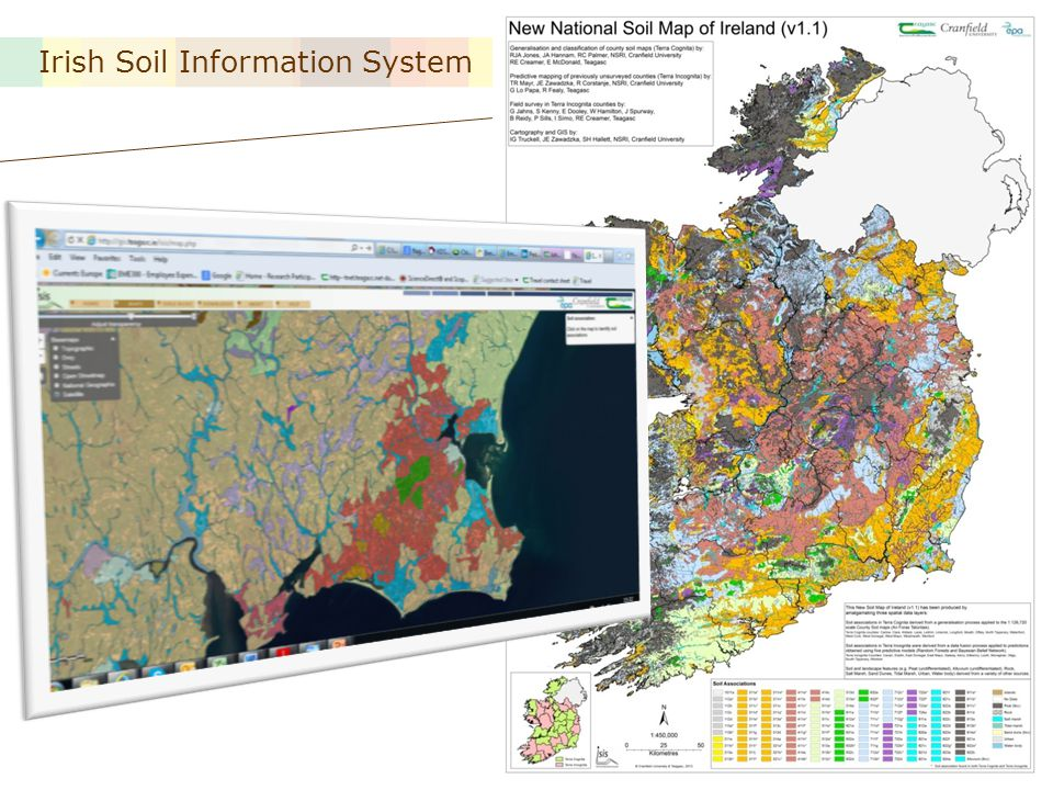 Irish Soil Information System