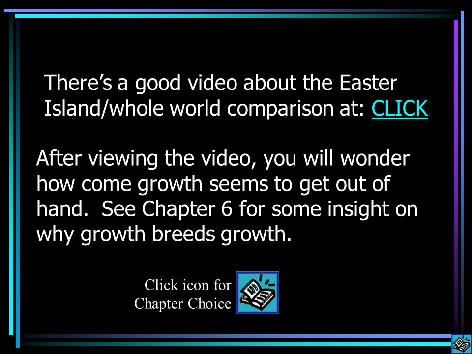 After viewing the video, you will wonder how come growth seems to get out of hand.
