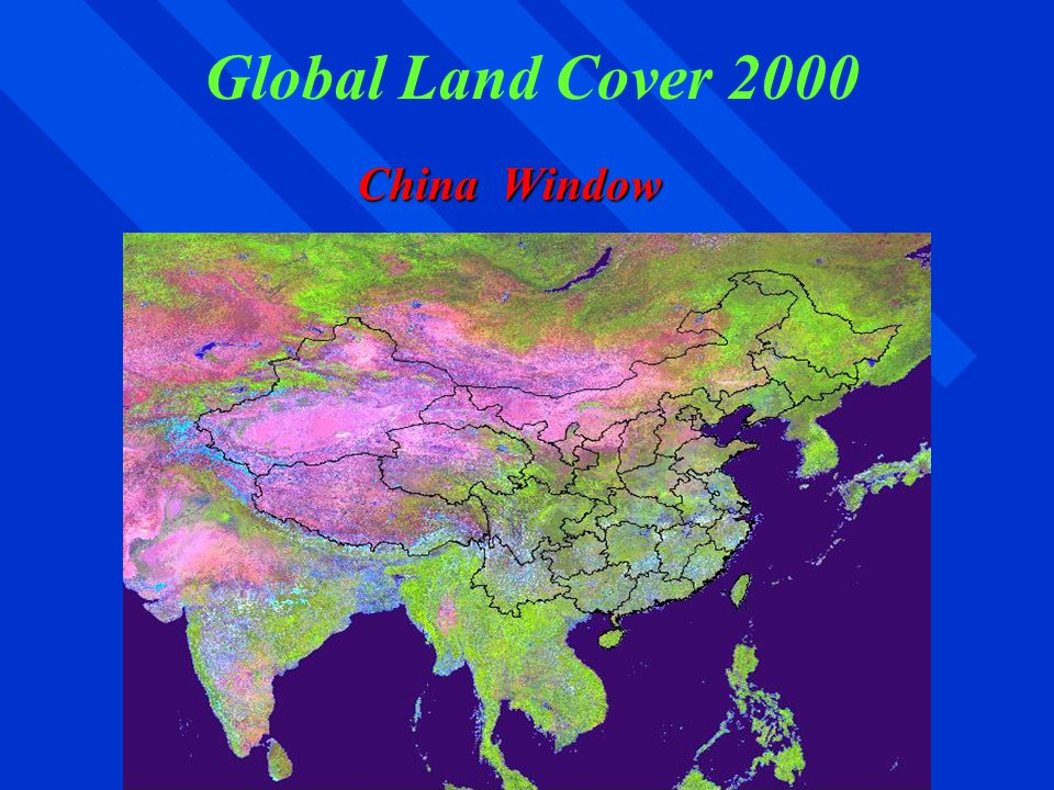 Global Land Cover 2000 China Window