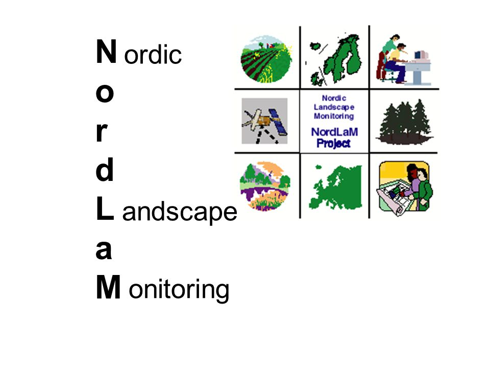 NordLaMNordLaM ordic andscape onitoring