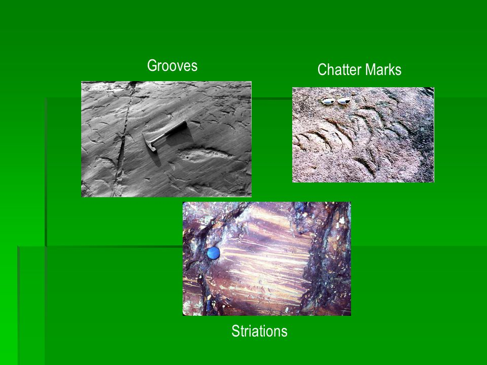 Chatter Marks Grooves Striations