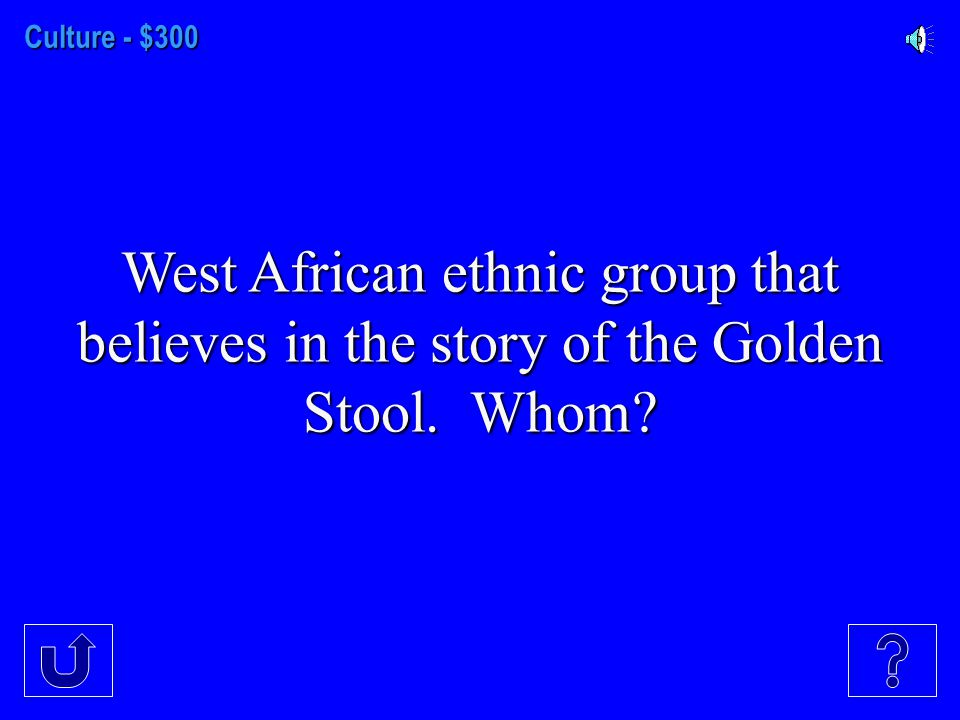 Culture - $200 Ethnic group that is mostly Muslim that speak a mixture of Arabic and Bantu.