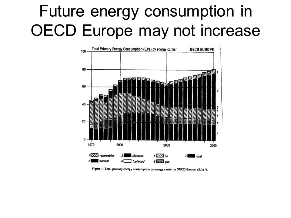 Future energy consumption in OECD Europe may not increase (RIVM)