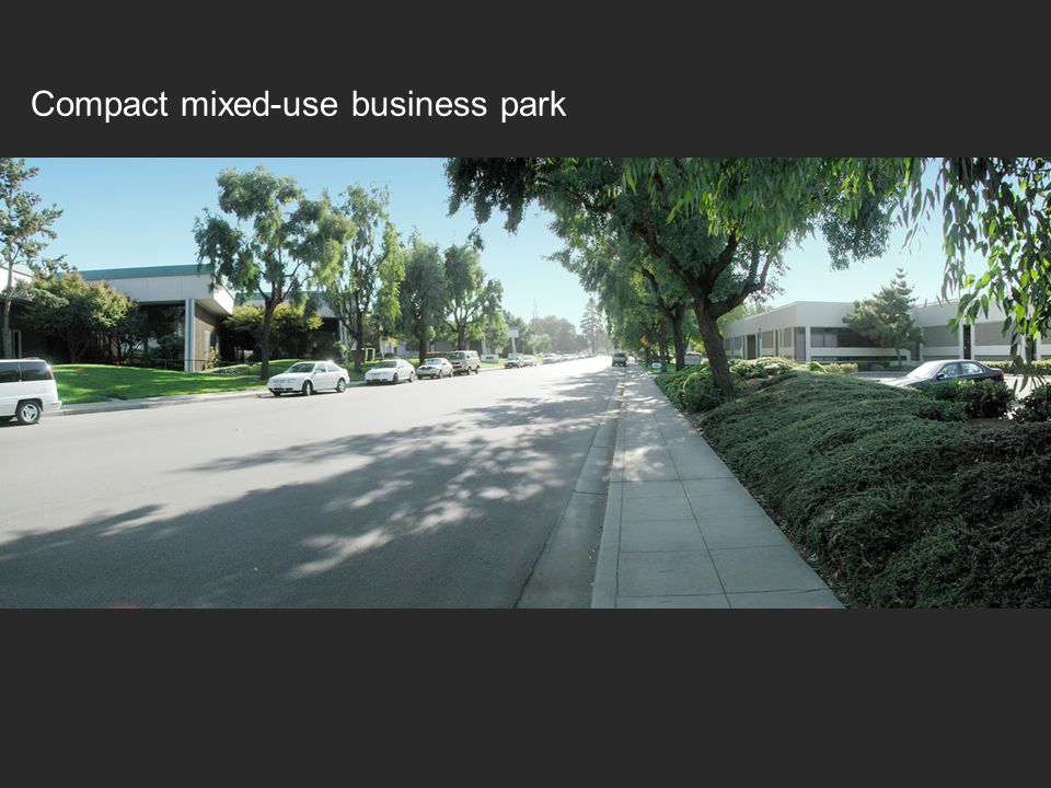 Compact mixed-use business park
