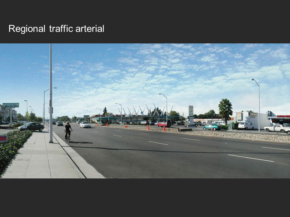 Regional traffic arterial